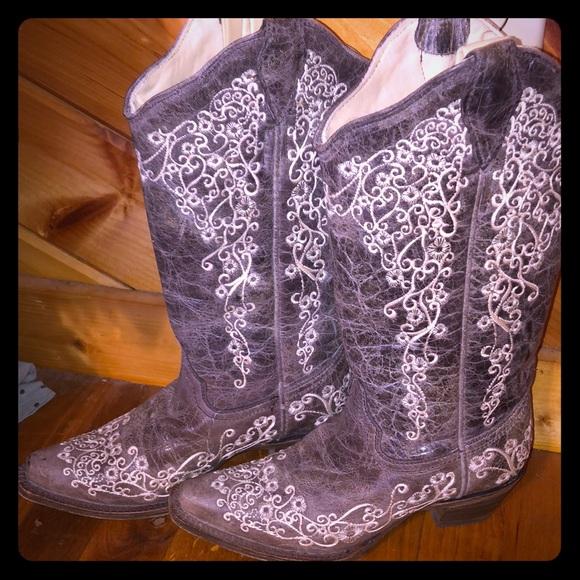 172b19e4a77 Corral vintage wedding boots